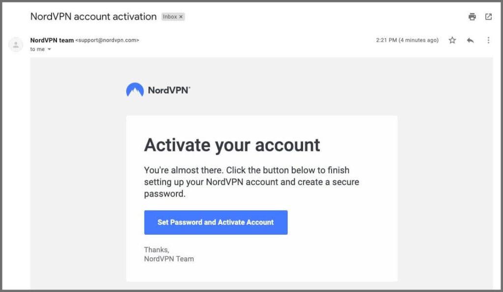 nordvpn free trial 21
