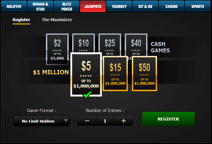 pokerking jackpots